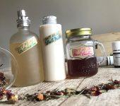 4月のアロマ部は「自家製チンキ&美白化粧水」にチャレンジ